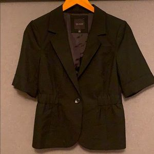 Business jacket with 1/2 sleeve